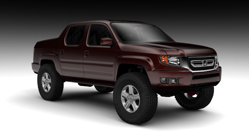 Photo Searches / lifted honda ridgeline